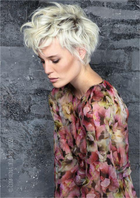 Ben noto Tagli capelli corti: i trend degli hairstylist per la primavera  IC01