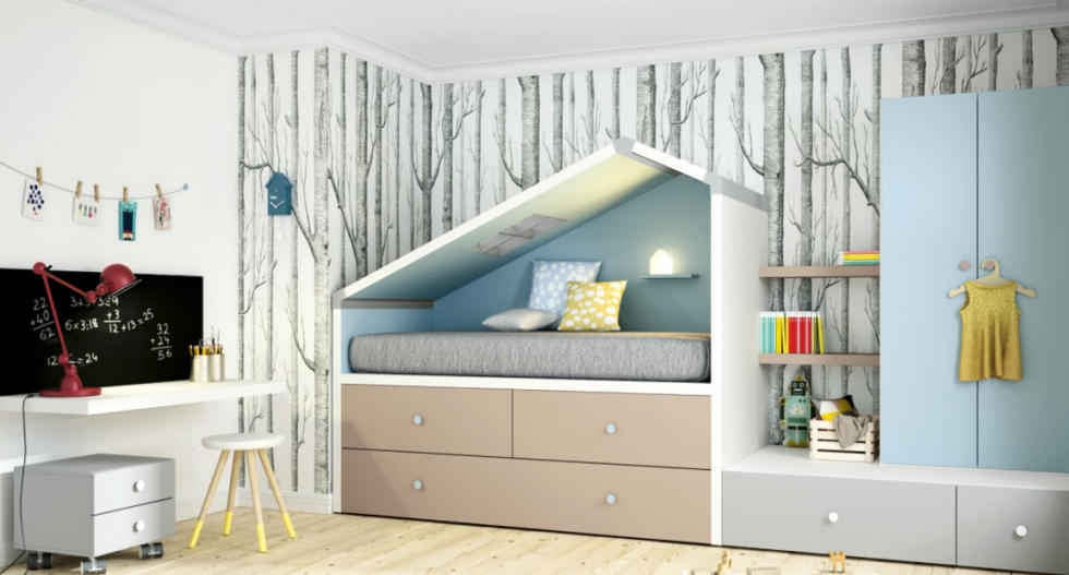 Idee salvaspazio camera da letto qt46 regardsdefemmes - Idee salvaspazio casa ...