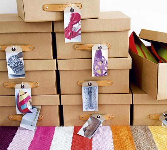 scatole di cartone fai da te. scatole di cartone colorate con disegn