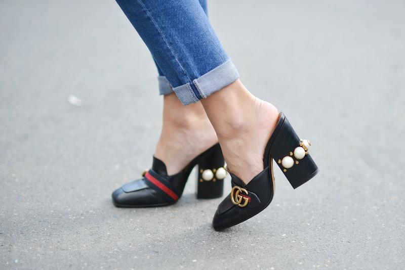 Scarpe Gucci Con Perle