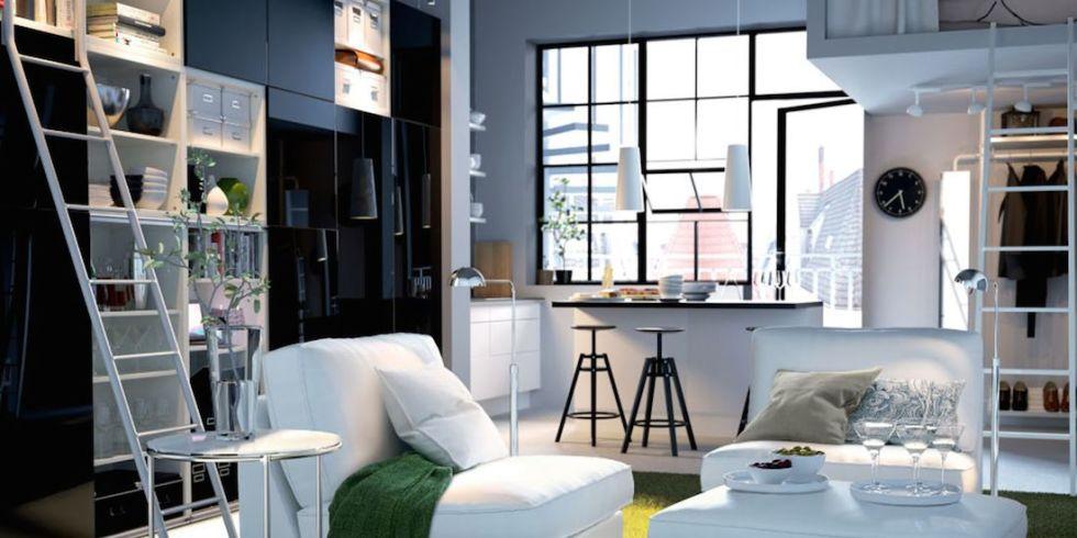 Top Arredare il soggiorno con 10 idee salvaspazio QD51
