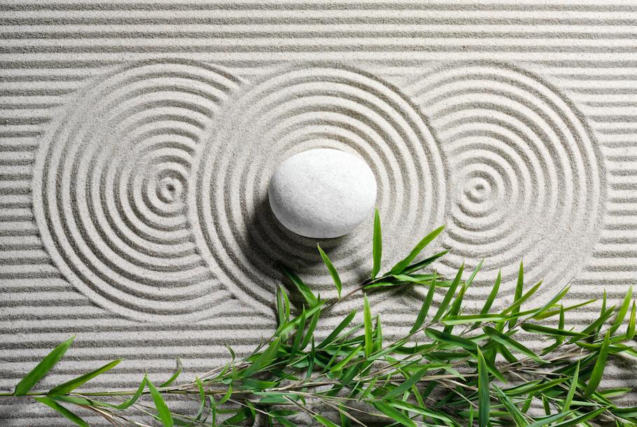 Giardino zen, come farlo a casa tua