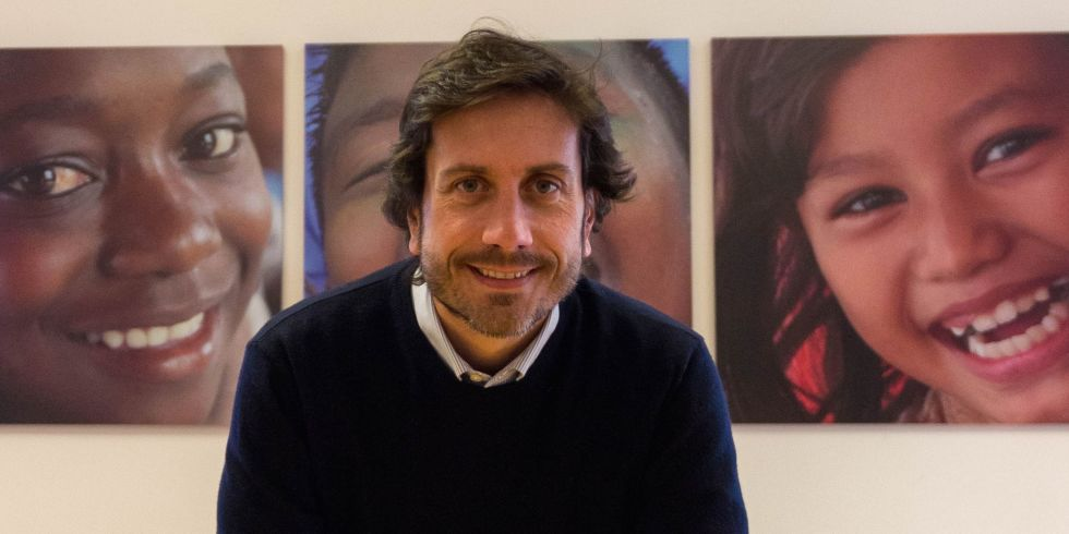Andrea Iacomini portavoce italiano Unicef