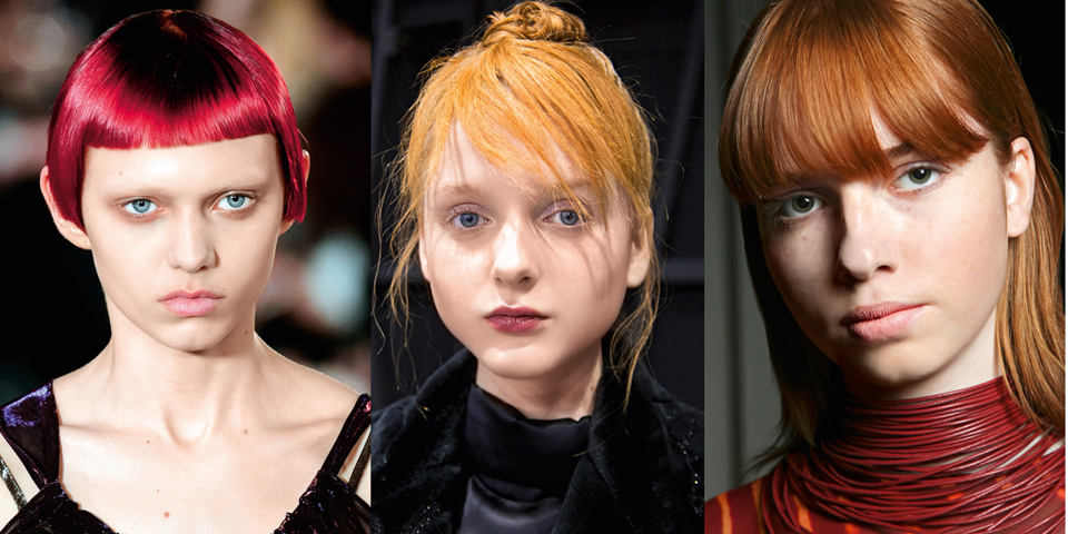 Preferenza Colore capelli: vai con il rosso, in tutte le sue sfumature FC91