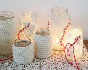Lanterne portacandele fai da te 3 idee facili - Portacandele natalizi fai da te ...