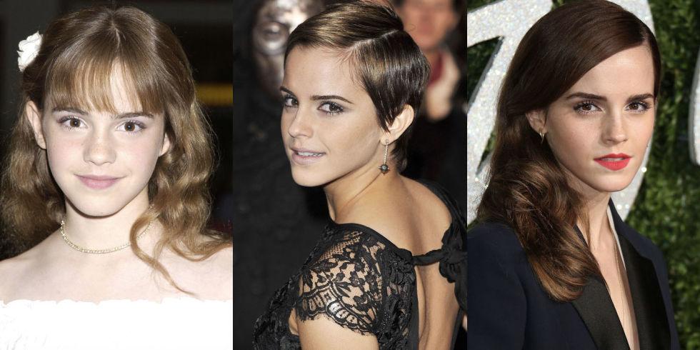 Favorito Emma Watson, i tagli capelli e le acconciature più belle TO54