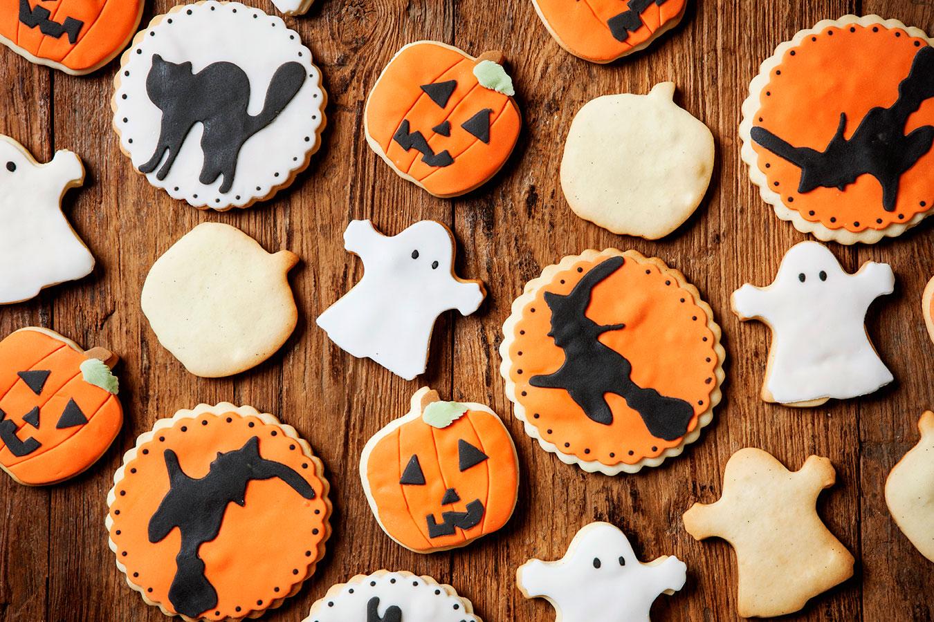 Biscotti di halloween 10 ricette semplici e veloci con la for Ricette di cucina semplici