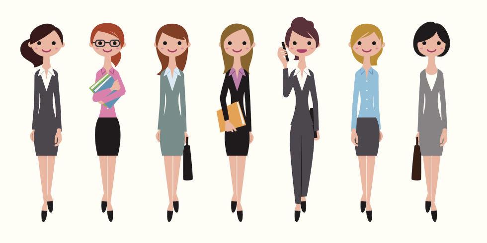Super Come devono vestirsi oggi le donne in ufficio? RC76