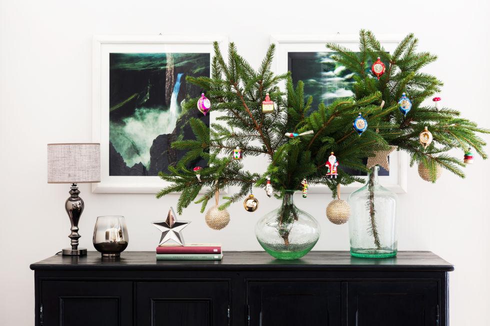 Amato Alberi di Natale particolari: 3 idee per una casa piccola IU67