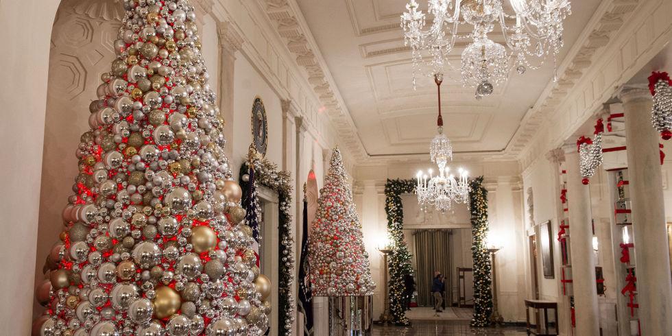 Ben noto Michelle Obama e le decorazioni di Natale della Casa Bianca GD11