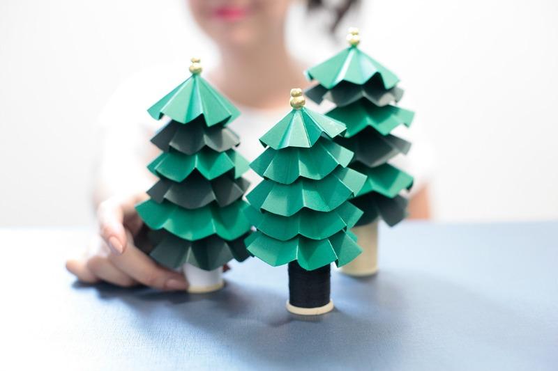 Amato Come fare l'albero di Natale di carta NI82
