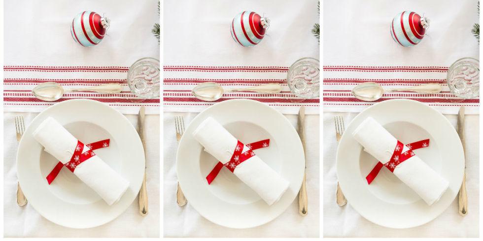 Stunning with piegare tovaglioli - Decorazioni natalizie con tovaglioli di carta ...