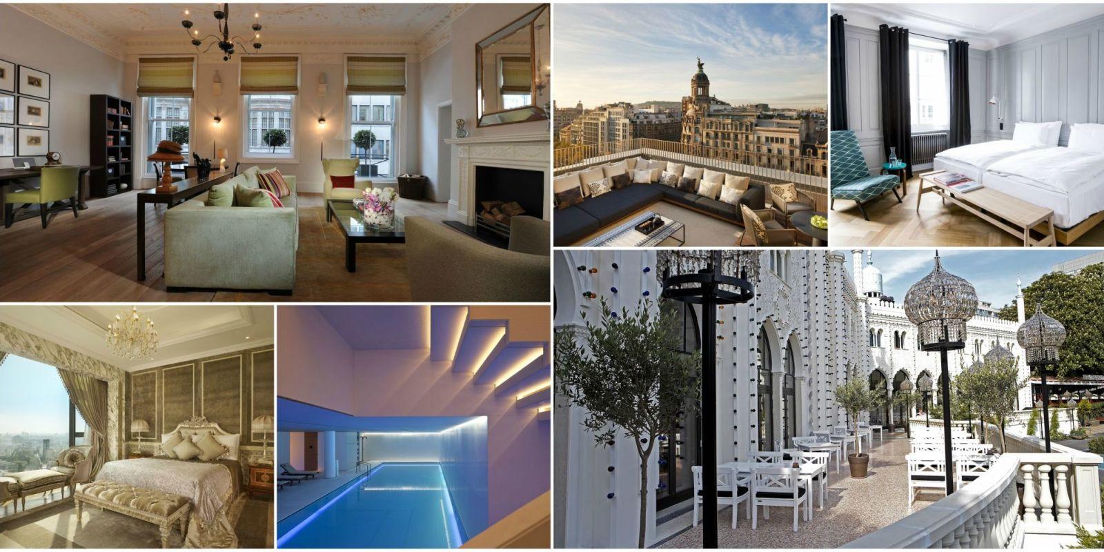 15 hotel di lusso da scoprire nelle citt pi belle del mondo for Foto interno case belle
