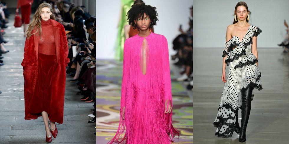 Souvent Tutte le tendenze moda autunno inverno 2017 2018 FE03