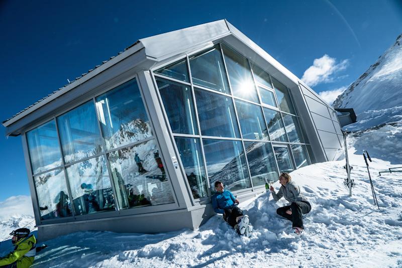 Risultati immagini per Panorama Glacier 3.000.