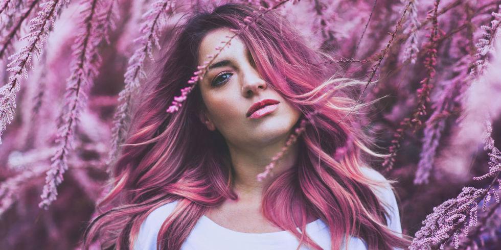Famoso Il colore di capelli più cool per l'estate? Il pink champagne SQ14