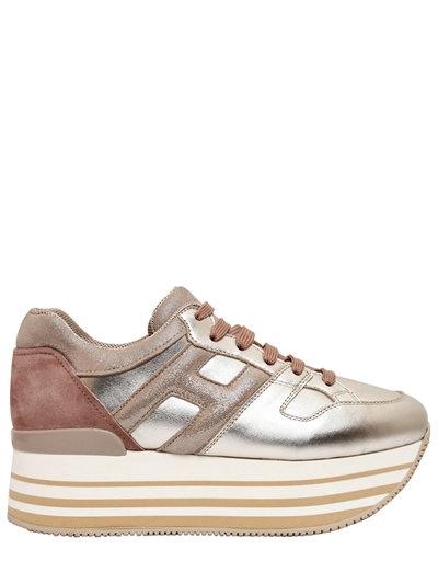 scarpe hogan con zeppa