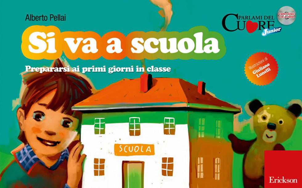 Préférence Primo giorno di scuola: 5 libri meravigliosi per i più piccoli TJ85