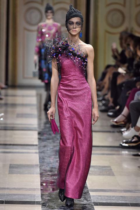 abbastanza 13 abiti da sera haute couture moda inverno 2018 TP36