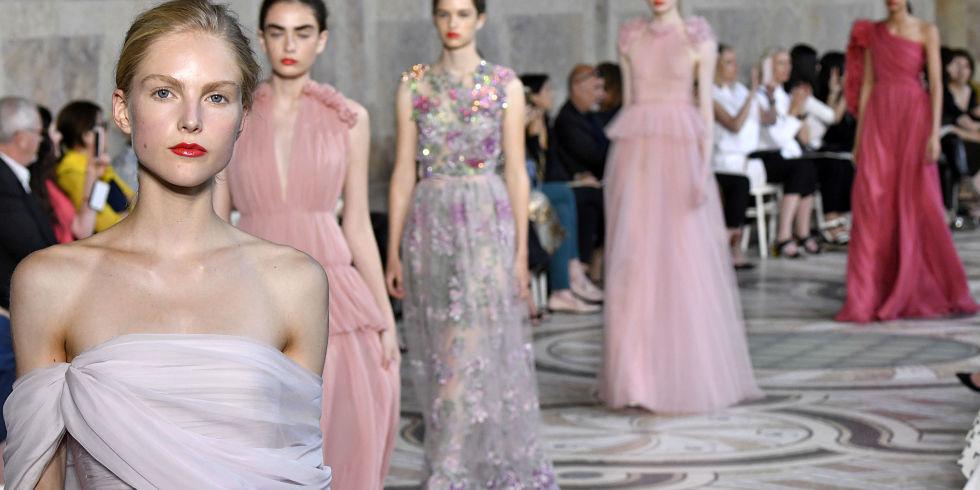 Amato 13 abiti da sera haute couture moda inverno 2018 ME49