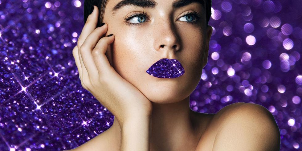 Molto A chi sta bene il rossetto viola, ultra viola, anzi Ultra Violet  SR55